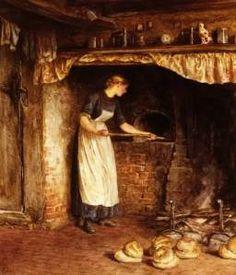 Irish lady baking